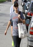 Reese Witherspoon Leaving Yoga Classes in Brentwood- March 2014
