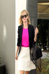 Reese Witherspoon Style - Leaves Her Office in Beverly Hills - March 2014