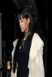 Rihanna - Arriving at a Drake After Party - March 2014