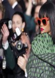 Rihanna in Paris - Stella McCartney F/W Fashion Show - March 2014