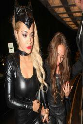 Rita Ora in Sexy Catsuit at Chakana Night Club in London