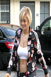 Rita Ora in Track Suit - Hollywood, March 2014