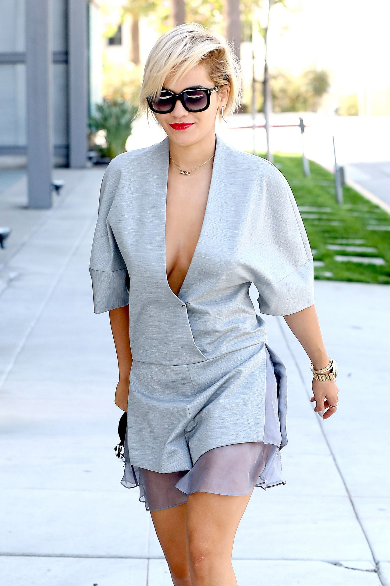 Rita Ora Out in Los Angeles - March 2014