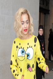 Rita Ora - Promoting the Release of Her New Single - London, March 2014