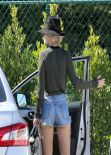 Rita Ora Shows Off Her Legs -  in Shorts While Out in Los Angeles