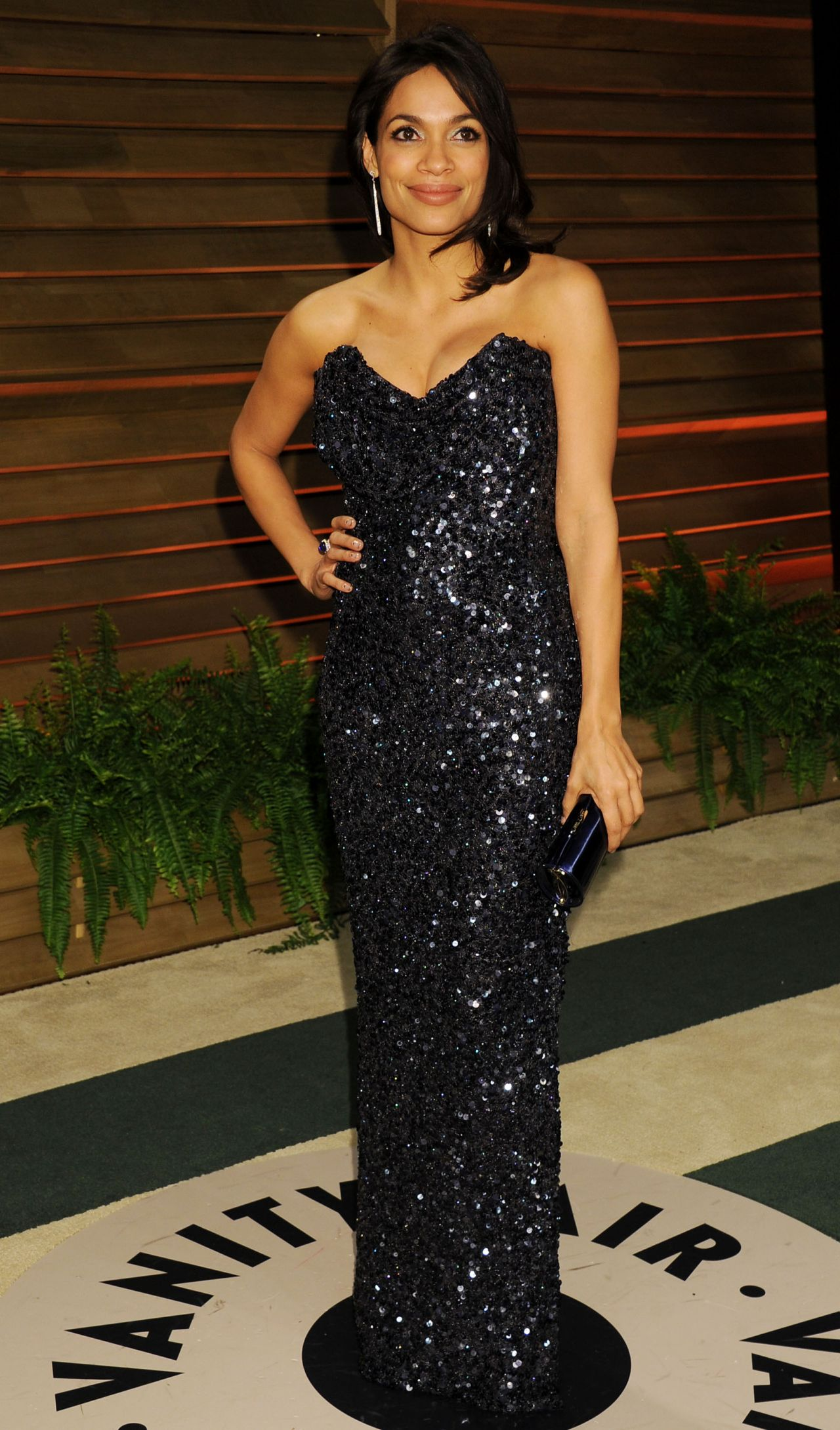 Rosario Dawson 2014 Vanity Fair Oscar Party In Hollywood