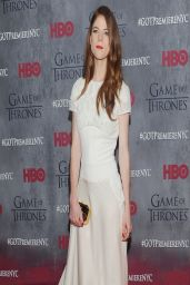 Rose Leslie - 'Game of Thrones' Season 4 Premiere in New York City