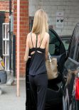 Rosie Huntington-Whiteley Exits Ballet Bodies - West Hollywood, March 2014