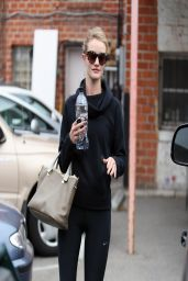 Rosie Huntington-Whiteley Gym Style - Out in West Hollywood - March 2014