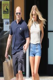 Rosie Huntington-Whiteley & Jason Statham - Out in Malibu - March 2014