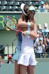 Sabine Lisiki & Martina Hingis - Sony Ericsson Open - Miami 2014