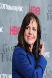 Sally Field on Red Carpet - 'Game of Thrones' Season 4 Premiere in New York City