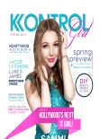 Sammi Hanratty - KONTROL Girl Magazine - Spring Issue Cover