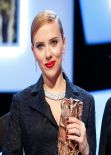 Scarlett Johansson at Cesar Film Awards in Paris - Part 2