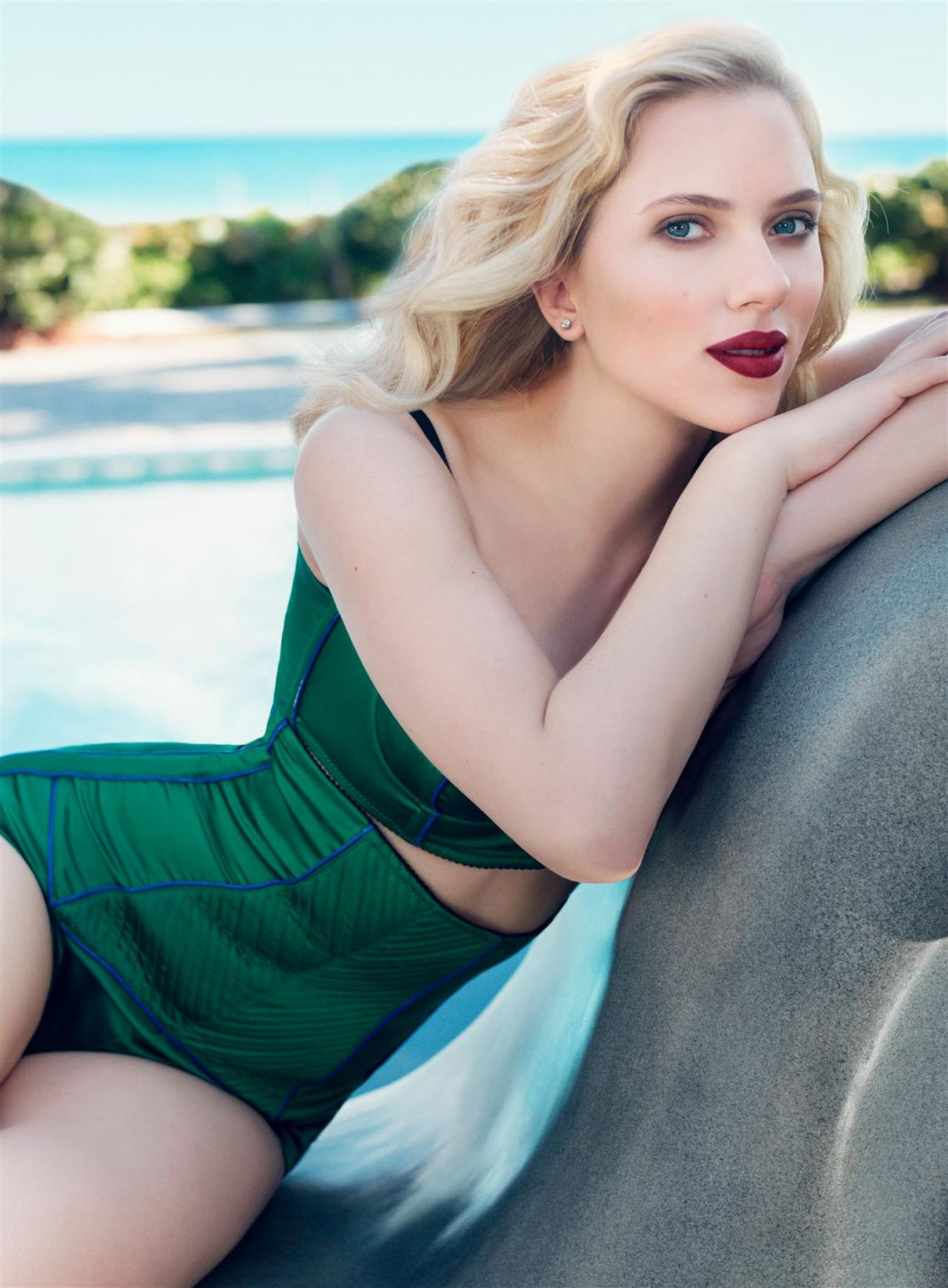 Scarlett Johansson California Style Magazine April 2014