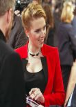 Scarlett Johansson - Captain America: The Winter Soldier Premiere in Paris