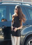 Selena Gomez Casual Street Style - Going to a Meeting in Los Angeles