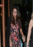 Selena Gomez Night Out Style - Out in Los Angeles, March 2014