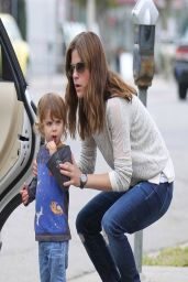 Selma Blair Street Style - Out in Studio City - March 2014