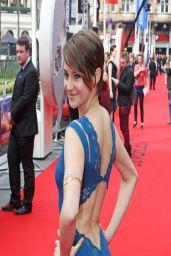 Shailene Woodley In Stella McCartney Gown - 'Divergent' Premiere in London