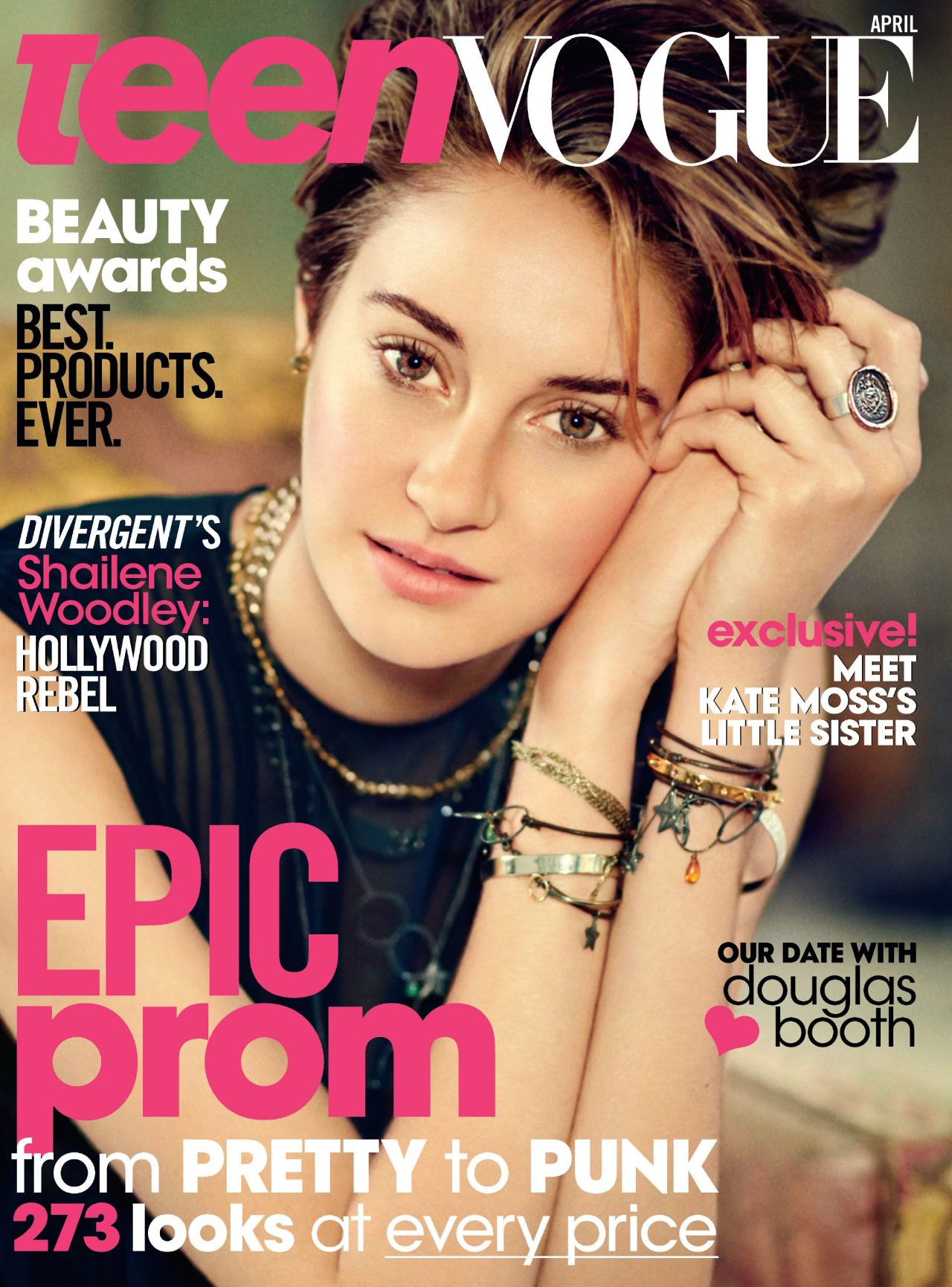 Shailene Woodley - Teen Vogue Magazine April 2014 Issue