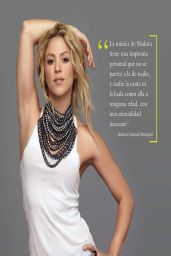 Shakira - Escenarios Magazine (MX) April 2014 Issue