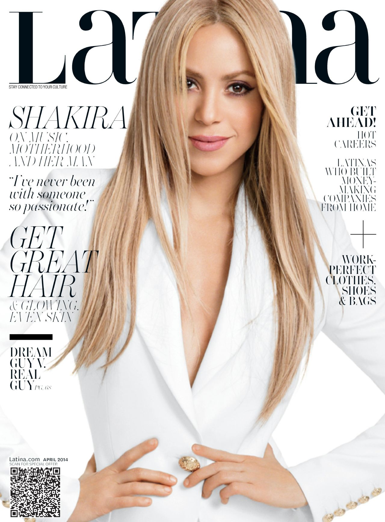 Shakira - Latina Magazine - April 2014 Cover