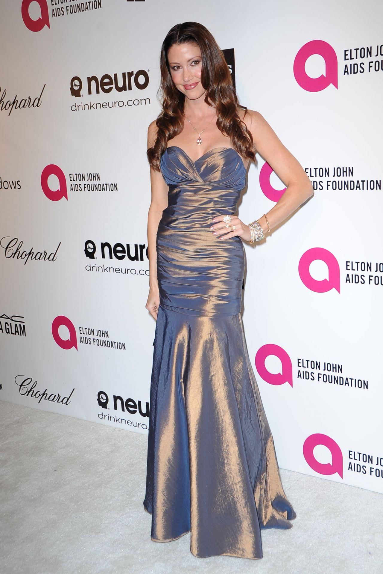 Shannon Elizabeth 2014 Elton John Oscar Party