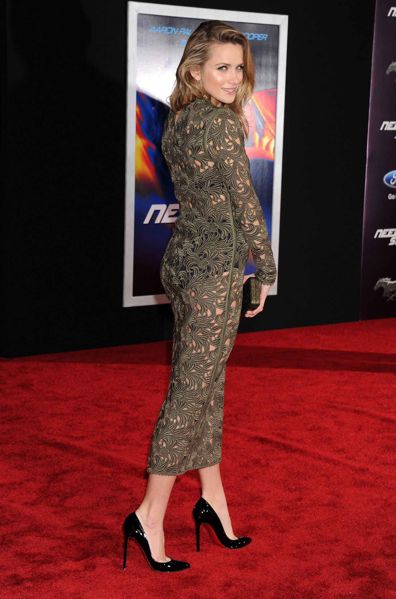 Shantel Vansanten Need For Speed Premiere In Hollywood