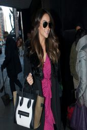 Shay Mitchell in New York City - Out in Manhattan - March 2014