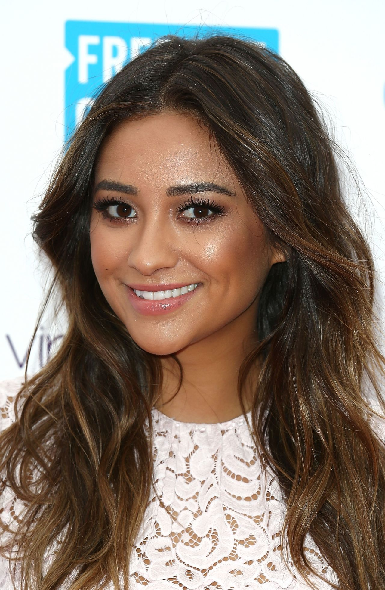 Shay Mitchell on Red Carpet - We Day UK - March 2014