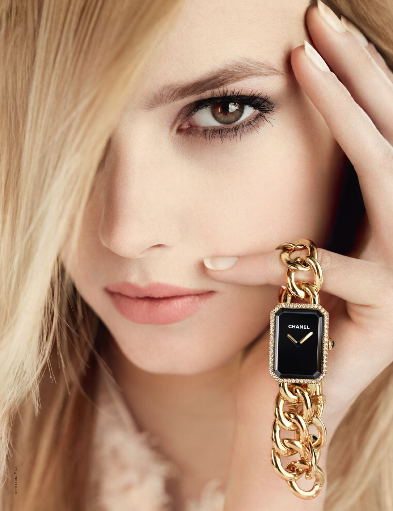 Sigrid Agren Photoshoot For Chanel Fine Jewelry 2013 Ad