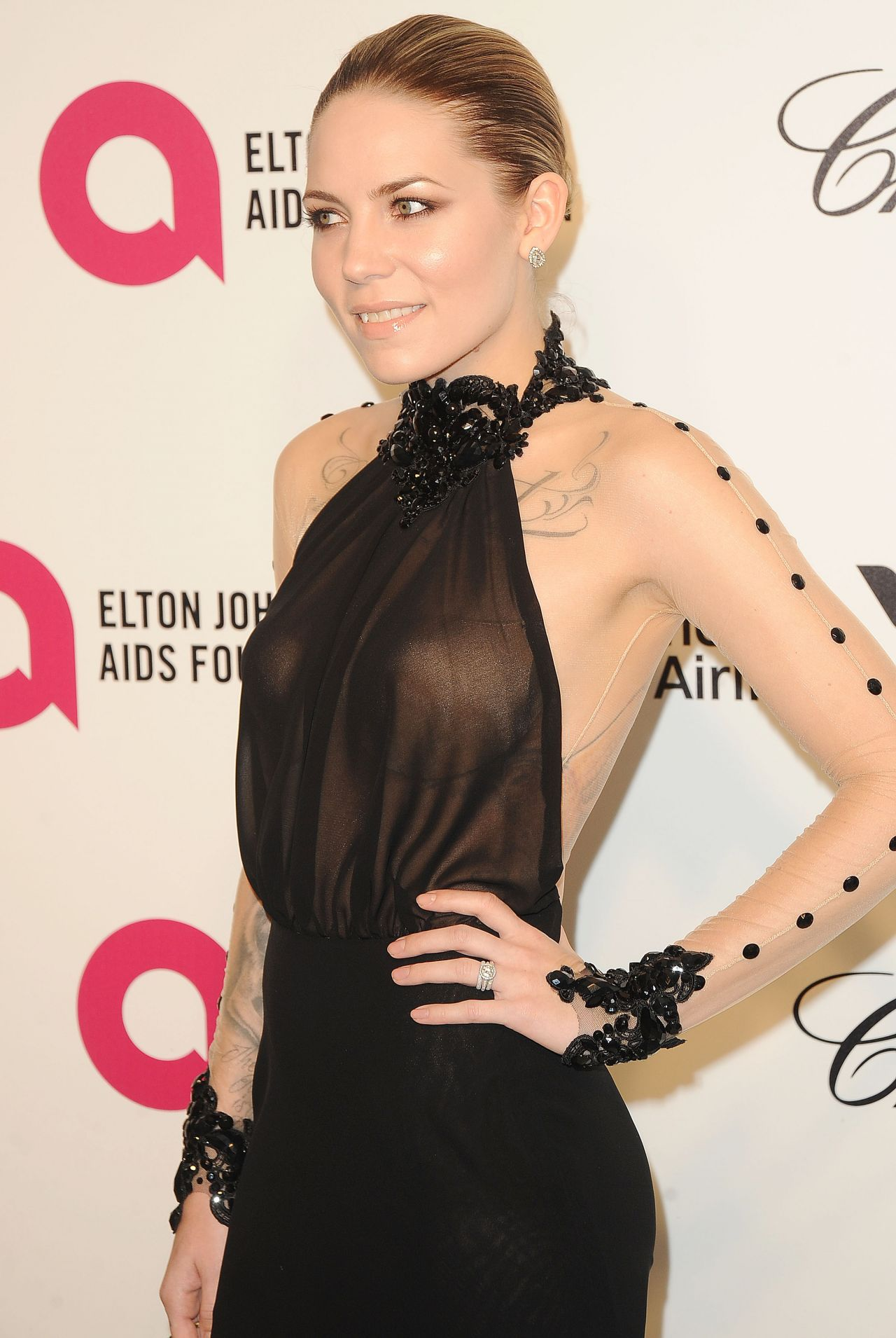 Skylar Grey - 2014 Elton John Oscar Party