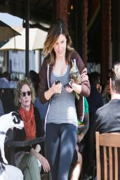 Sophia Bush in Leggings - Out in West Hollywood - March 2014