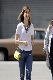 Sophia Bush in Ripped Jeans - Out in LA - March 2014