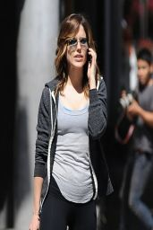 Sophia Bush Street Style - Out in Los Angeles, March 2014