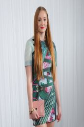 Sophie Turner Wearing Mary Katrantzou Short Dress - Jameson Empire Awards 2014