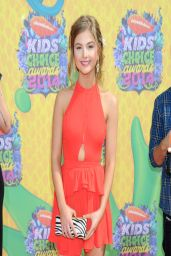 Stefanie Scott Wearing Nasty Gal Minidress at Nickelodeon Kids' Choice Awards 2014