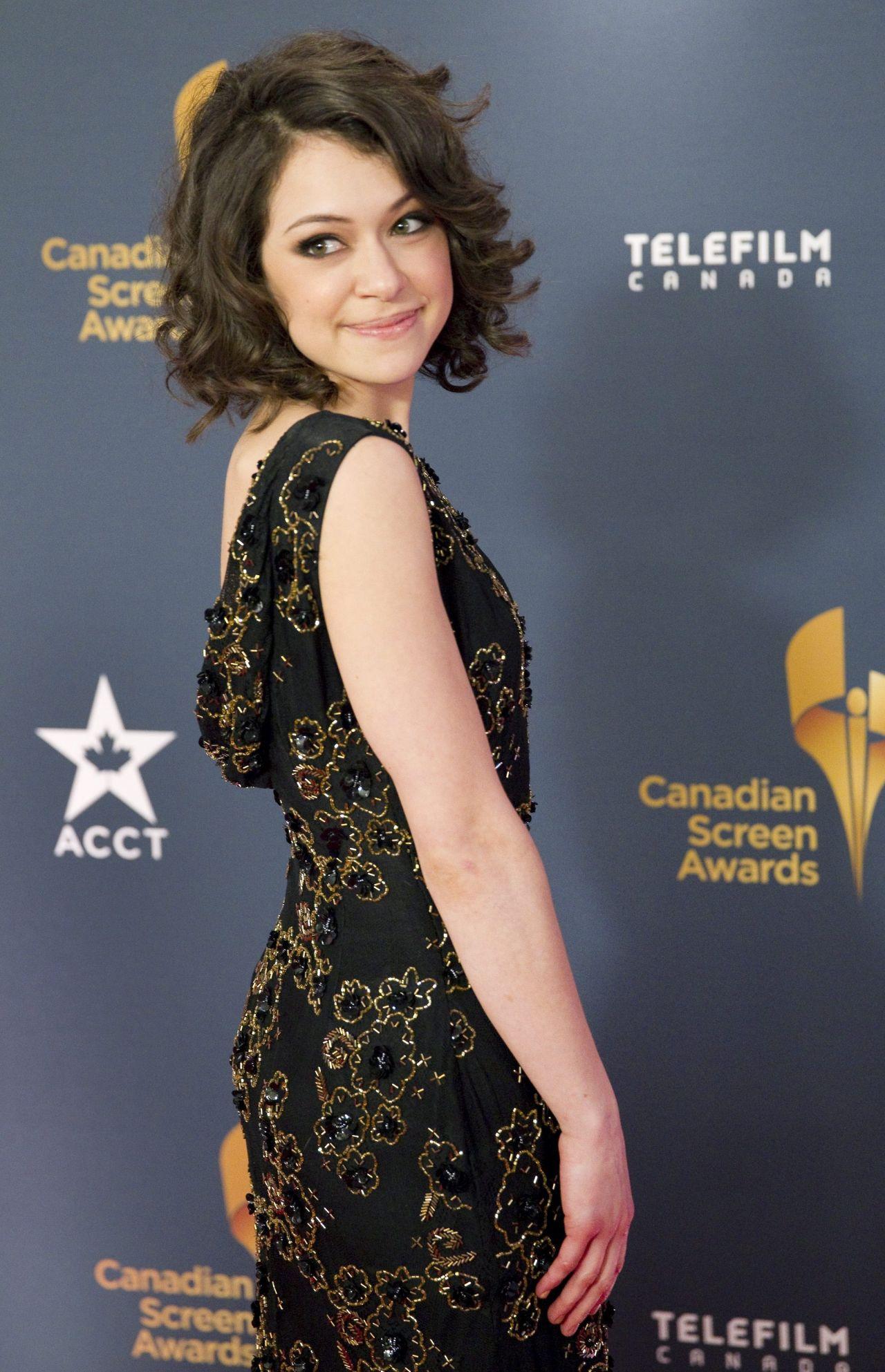 Tatiana Maslany - 2014 Canadian Screen Awards