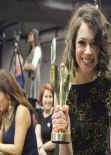Tatiana Maslany - 2014 Canadian Screen Awards