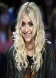 Taylor Momsen in Paris - Le Grand Journal Show - March 2014