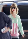 Taylor Swift at the Gym - March 2014
