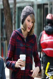Taylor Swift in New York City - March 2014