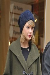 Taylor Swift in Soho - New York City, March 2014