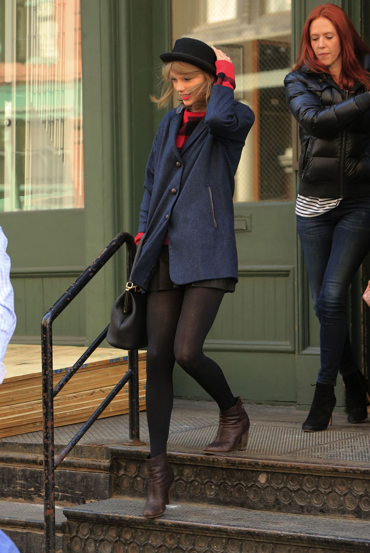 Taylor Swift Street Style - Out in NYC - March 2014