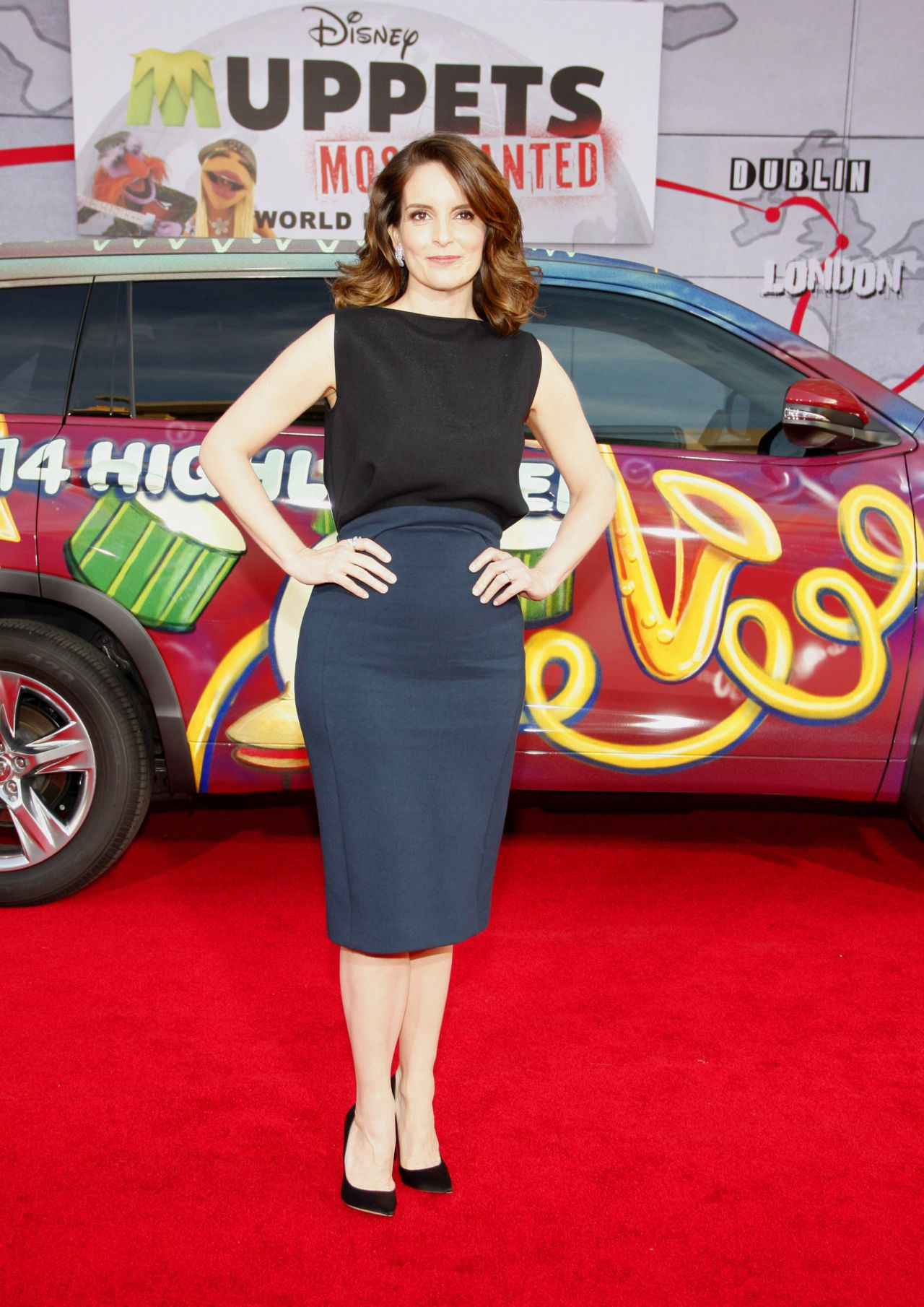 Tina Fey – 'Muppets Most Wanted' Premiere in Los Angeles