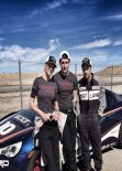 Tricia Helfer - TwitPic from Toyota Grand Prix Pro_Celeb Race Training - March 2014