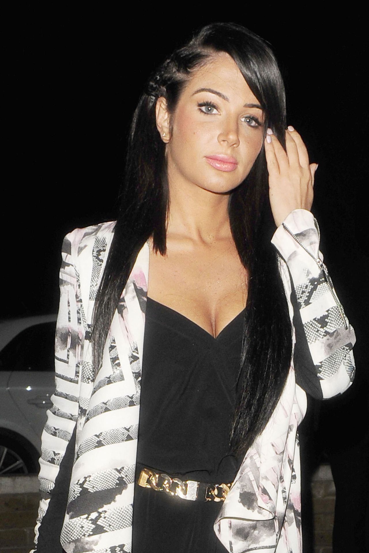 Tulisa Contostavlos Night Out Style