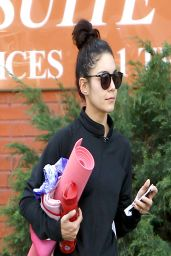 Vanessa Hudgens at a Yoga Class in Studio City - March 2014