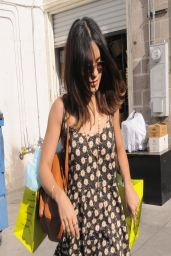 Vanessa Hudgens in Mini Floral Dress - Planet Blue Boutique In Beverly Hills